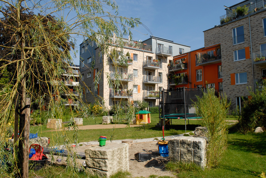 parkquartier friedrichsberg architekturblatt. Black Bedroom Furniture Sets. Home Design Ideas