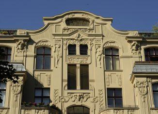 Wohn- und Geschäftshaus in der Giesebrechtstr. in Berlin -Charlottenburg, © ML Preiss, Deutsche Stiftung Denkmalschutz