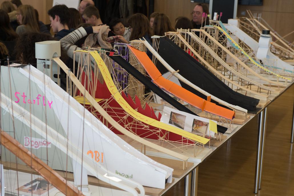 Schülerwettbewerb IDEENsprINGen: Die Gewinner-Modelle, Foto: Sven Jakobsen
