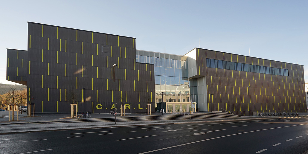 C a r l central auditorium for research and learning for Architektur aachen