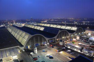 """""""Historisches Wahrzeichen der Ingenieurbaukunst in Deutschland"""" - die Großmarkthalle Hamburg, Foto: Großmarkt-Hamburg"""