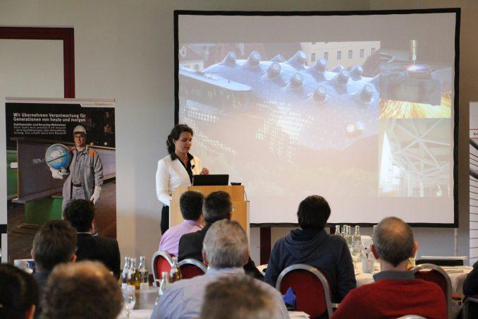 Prof. Brell-Cokcan plädiert für parametrisierte Planung und individualisierte Stahlbaufertigung Foto: bauforumstahl