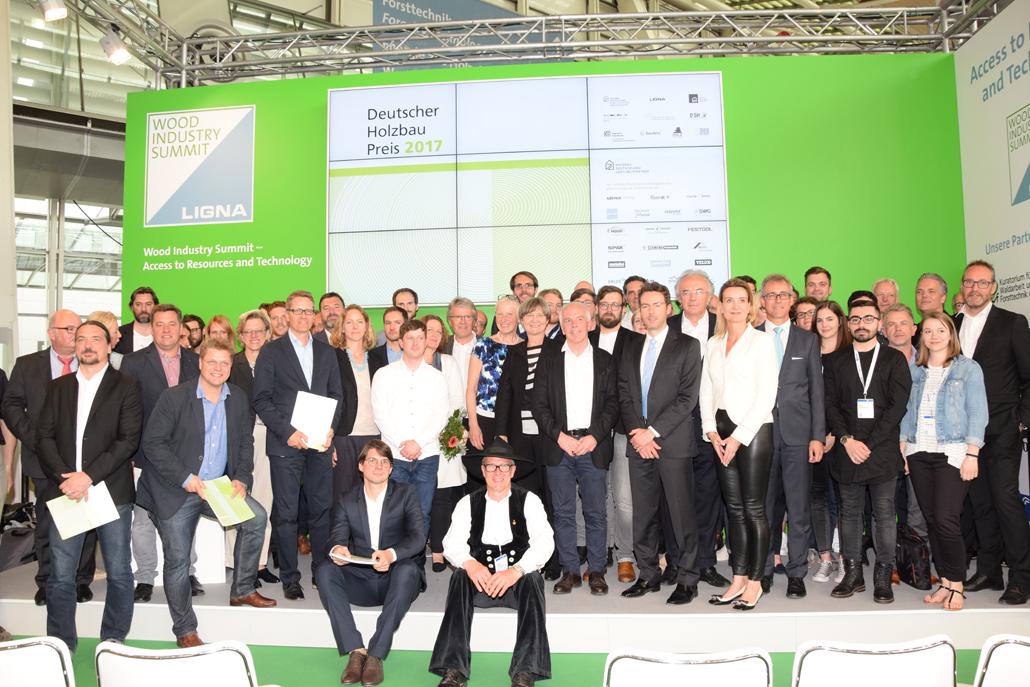 Verleihung des Deutschen Holzbaupreises 2017, Küttner/Holzbau