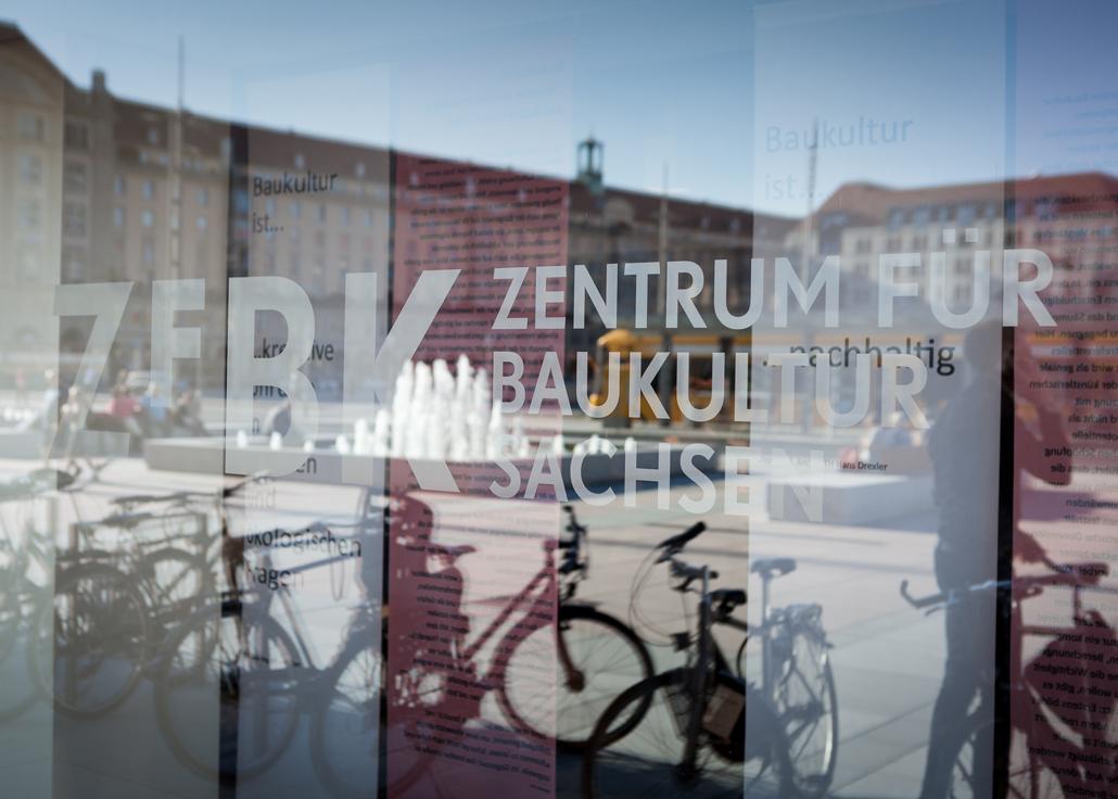 Zentrum für Baukultur Sachsen eröffnet heute im Kulturpalast, Foto: Till Schuster