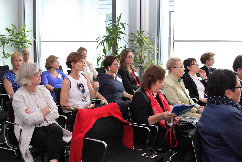 """Strategische Allianzen eingehen, Netzwerke bespielen und Selbstmarketing betreiben – hochkarätig besetzte """"Women on Boards""""-Veranstaltung der ICG , Foto: ICG"""