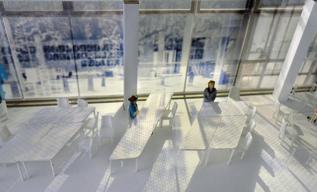 Café Schadow der Berliner Künstlerin Sabine Hornig, Bild: Sabine Hornig