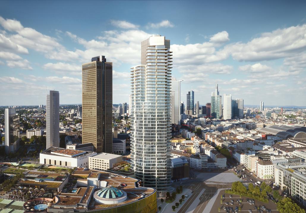Magnus Kaminiarz & Cie. Architektur holen mit dem Grand Tower in Frankfurt am Main den German Design Award (c) Magnus Kaminiarz & Cie. Architektur