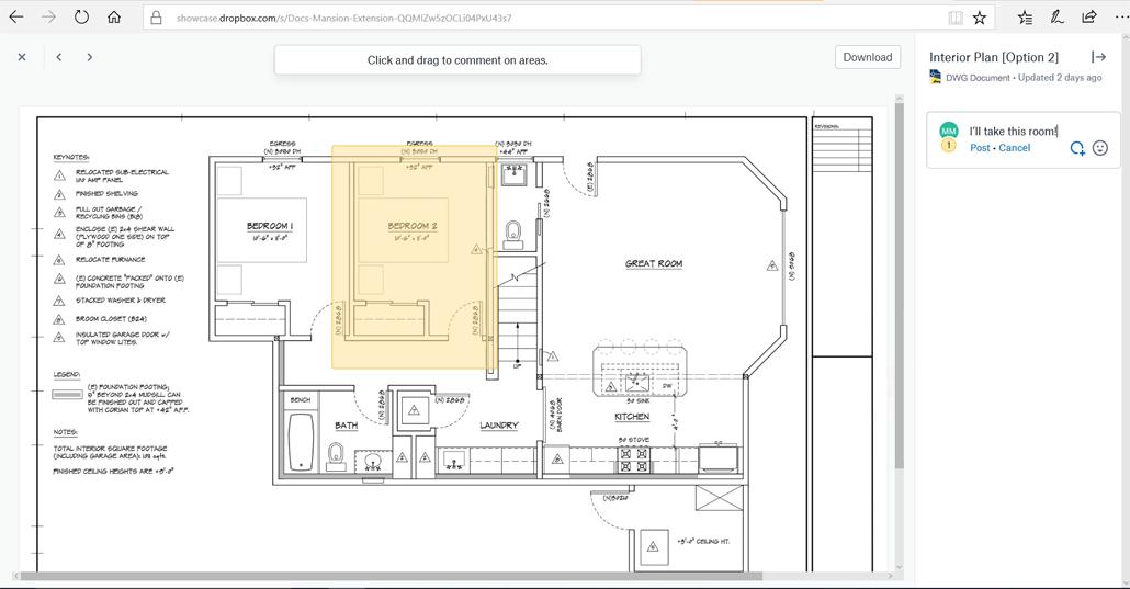 Dropbox kündigt Integration mit AutoCAD an (c) Dropbox