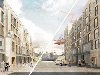 Wettbewerb Europan - Elbinselquartier Wilhelmsburg (c) IBA Hamburg / Europan / Darin Darum Darunter Dazwischen