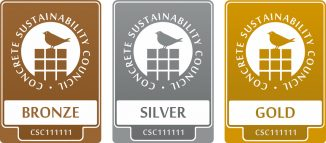Die CSC-Zertifikate Bronze, Silber und Gold. Platin wird in der Version 1.0 des Systems noch nicht vergeben. (c) BTB