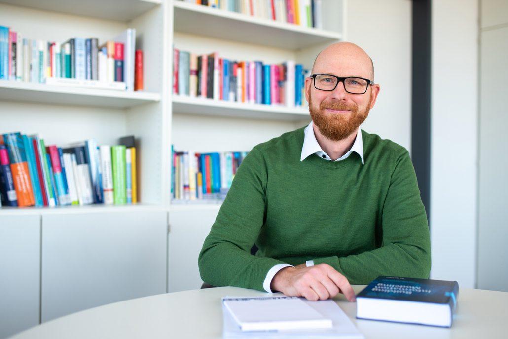 Prof. Dr. Markus König, Leiter des Lehrstuhls Informatik im Bauwesen der Ruhr-Universität Bochum © RUB, Kramer