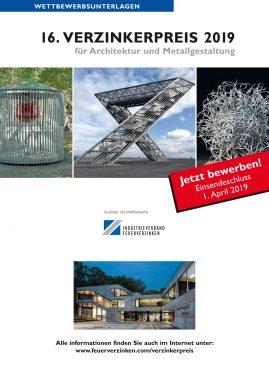 Verzinkerpreis für Architektur und Metallgestaltung (c) Institut Feuerverzinken GmbH