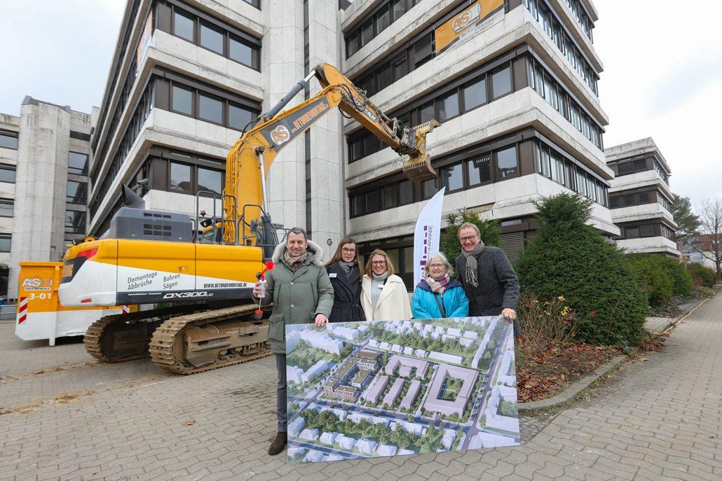 Ralph Müller, Karin Loosen, Nicole Müller, Irma Walkling-Stehmann, Uwe Bodemann (c) DIE WOHNKOMPANIE Nord GmbH