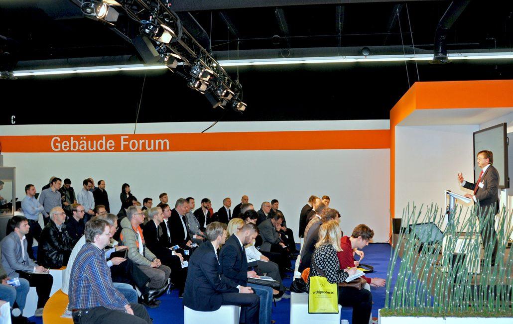 Auch 2019 werden Experten im Rahmen des Gebäude-Forums über maßgebliche Entwicklungen in der TGA-Branche informieren. Foto: ja / BTGA e.V.