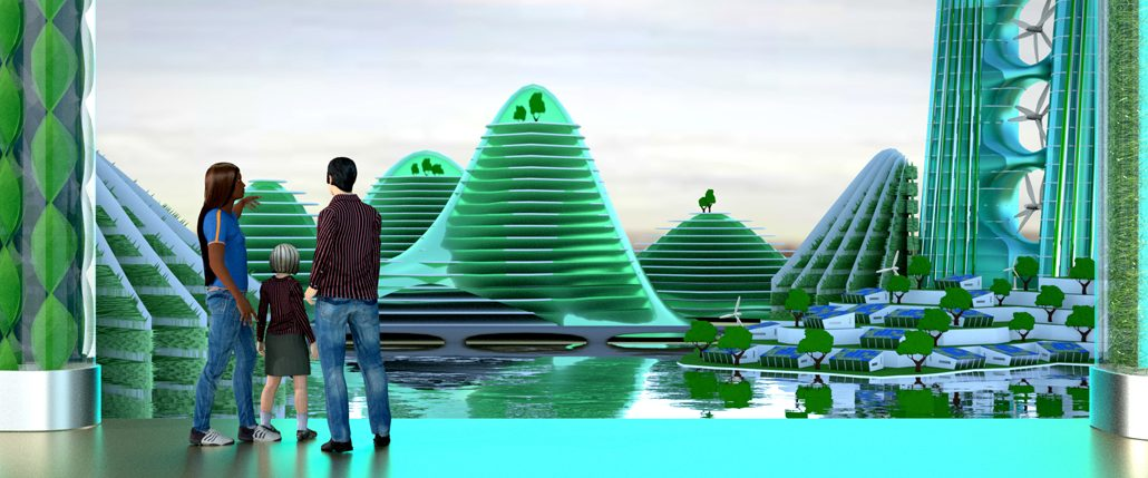 Agro-Urbane Stadt der Zukunft (c) Daniel Abendroth