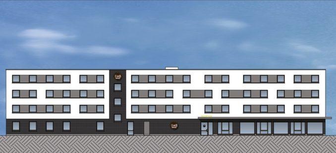 Visualisierung des Neubaus an der Klanze (c) LIST AG