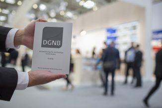 DGNB Zertifikat   Quelle: DGNB