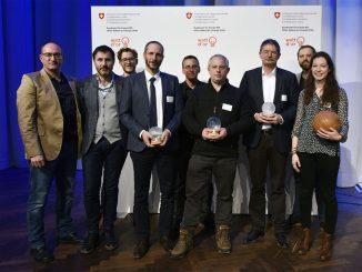 NEST mit «Watt d'Or» ausgezeichnet (c) Bundesamt für Energie