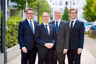 DORNIEDEN Geschäftsführung: Peter Veiks, Martin Dornieden, Michael Dornieden, Bernd Hütter (v.l.n.r.) Fotograf: Carlos Albuquerque