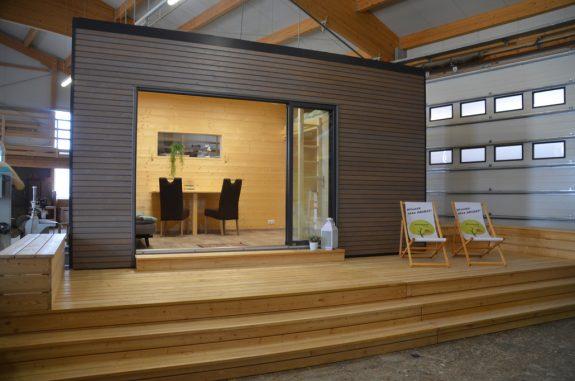 Neu auf der Bauen+Wohnen Salzburg 2019: Tiny House – klein aber oho! © Führer Holzbau