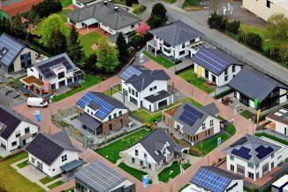 Die FertighausWelt Wuppertal ist ein Pilotprojekt für energieeffiziente Wohnsiedlungen. Foto: BDF/Emiliyan Frenchev