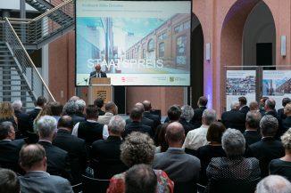 Verleihung des Sächsischen Staatspreises für Baukultur 2017, Foto: Ingenieurkammer Sachsen