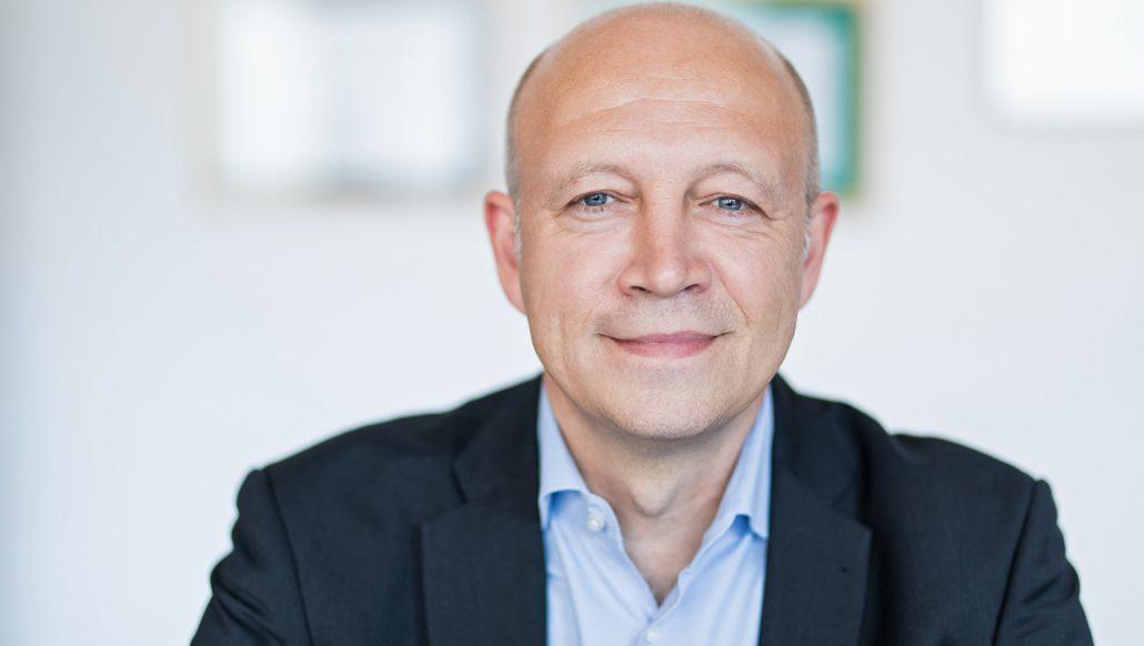 Andreas Kuhlmann (Sprecher der Allianz für Gebäude-Energie-Effizienz (geea)) Foto: Deutsche Energie-Agentur GmbH (dena)