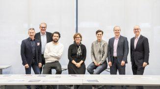Die Jury des Design Plus Wettbewerbs. (Copyright: Rat für Formgebung Service GmbH/ Manuel Debus)