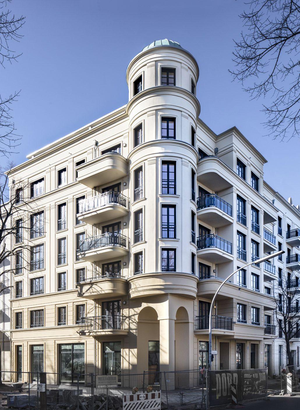 Patzschke-Neubauprojekt in Berlin, Maybachufer 36-38, Bild: Patzschke Architekten