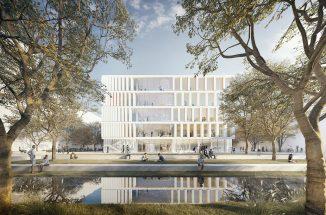 1. Preis: Perspektive Campus © HDR, Düsseldorf
