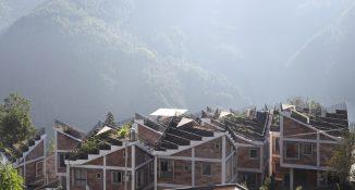 Beschreibung: Rural Urban Framework (RUF): Wiederaufbau des Dorfes Jintai, Provinz Sichuan, China, 2017 © Rural Urban Framework (RUF)
