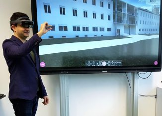 Building Information Modeling-Labor. Eröffnung eines Labors für die Digitalisierung im Bauwesen (c) Felix Dreischerf