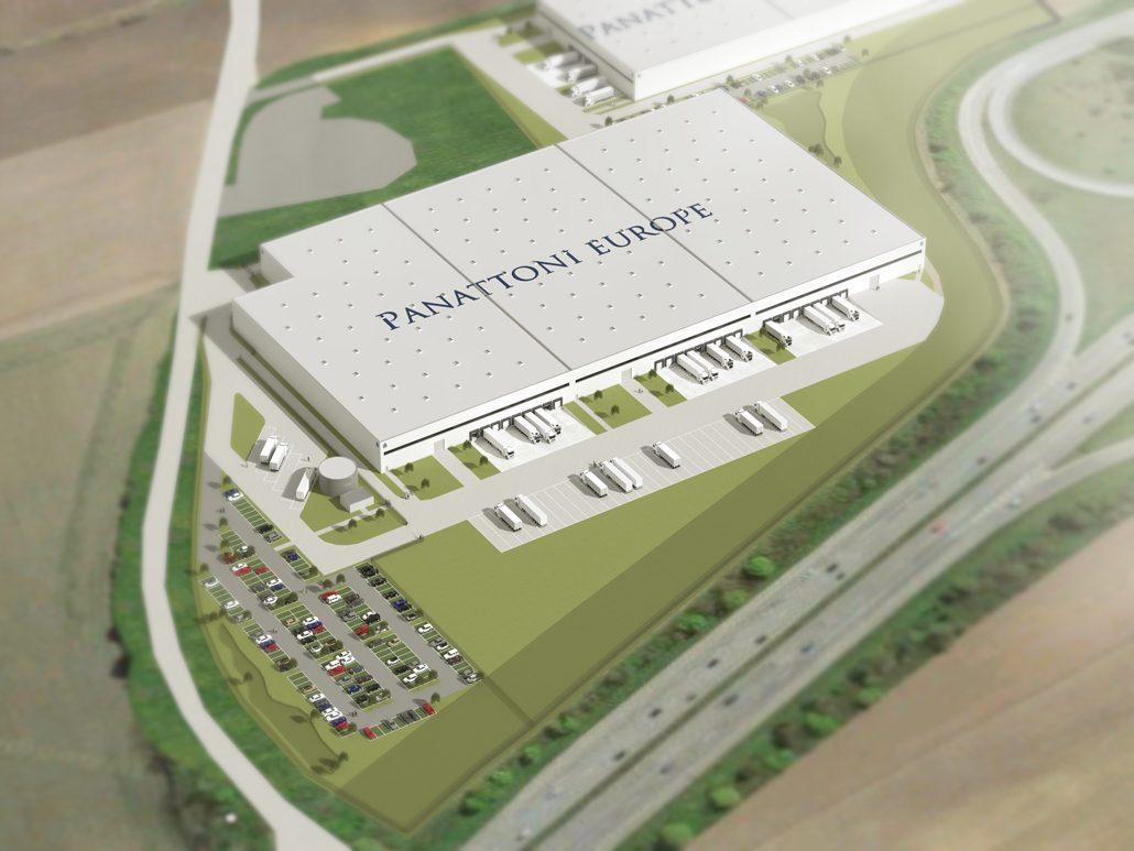 Projektentwicklung von Panattoni Europe in Kaltenkirchen, nördlich von Hamburg. Bildquelle: Panattoni Europe