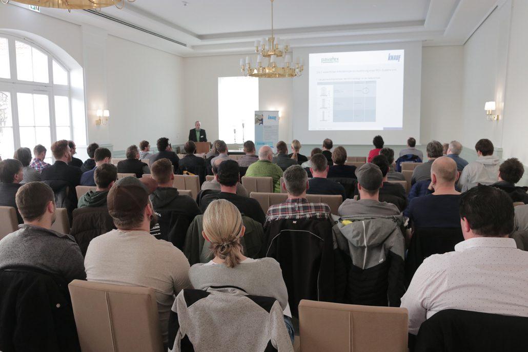 Knauf Praxistag Holzbau (c) Knauf Gips KG
