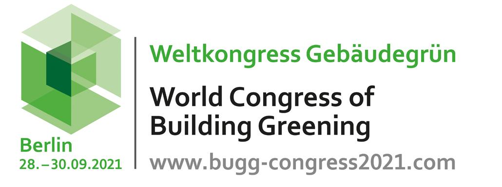 28. bis 30. September 2021 | Weltkongress Gebäudegrün im September 2021
