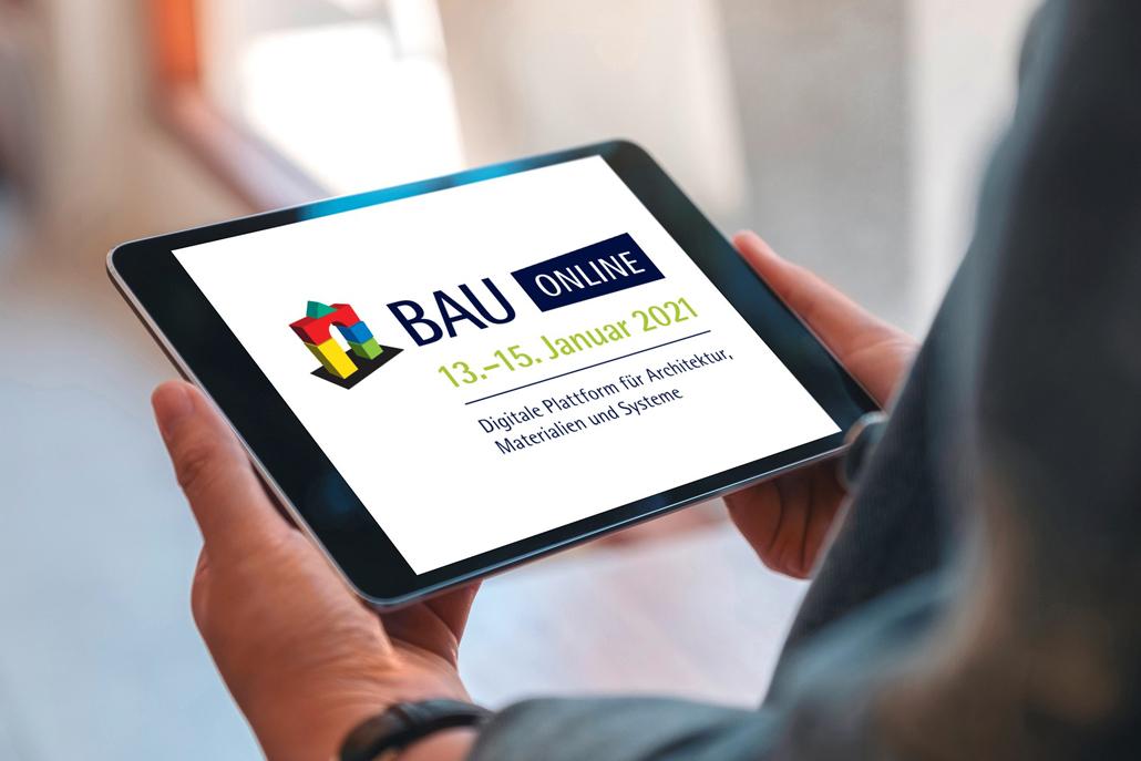 13. bis 15. Januar 2021 |BAU Online