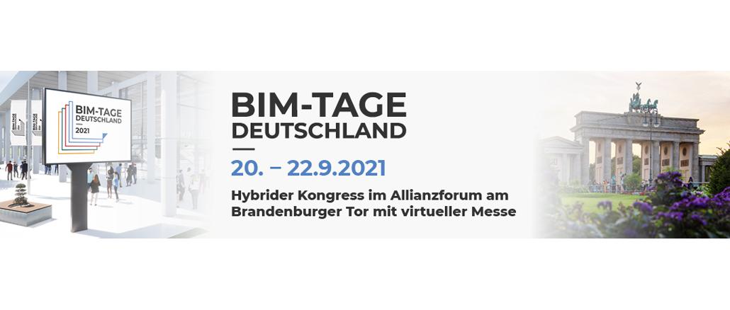 21. bis 22. September 2021 | BIM Tage Deutschland