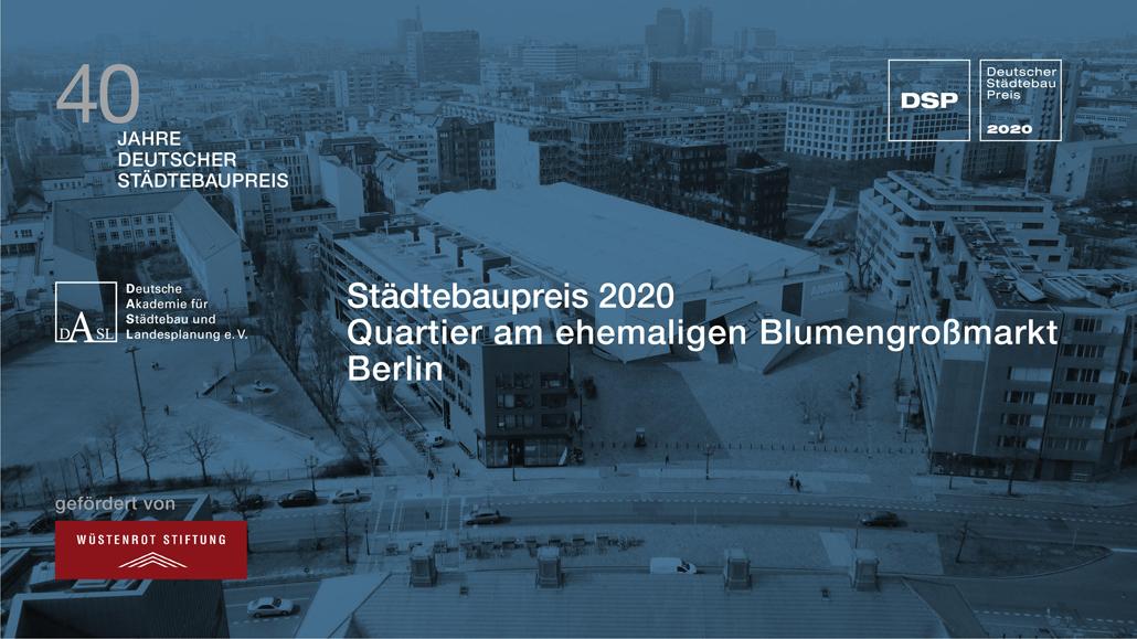 Deutscher Städtebaupreis 2020