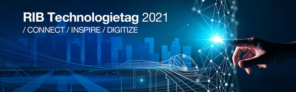 : Inspiration zur Digitalisierung, Cloud Technologie und zur virtuellen Zusammenarbeit am Bau verspricht der Technologietag der RIB Software SE am 12. Mai 2021. Bildnachweis: RIB Software SE.