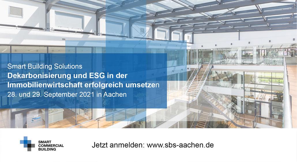 28. bis 29. September 2021 | Smart Building Solutions 2021